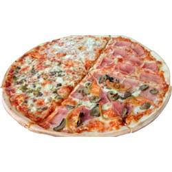Pizza Mitad y Mitad al Gusto